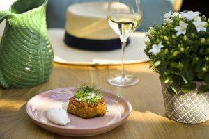 Restaurant Petit Jardin Bayeux Crabcake