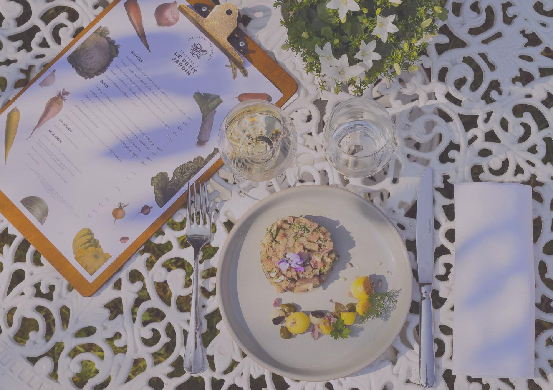 Restaurant Petit Jardin Bayeux terrasse