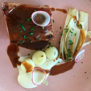 Restaurant Petit Jardin Bayeux veau