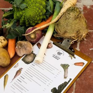 Restaurant Petit Jardin Bayeux menu