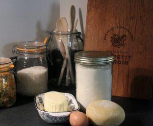 Restaurant Petit Jardin recette tarte aux poireaux chèvre et curry ingrédients